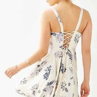 Margot Crepe Floral Day Dress