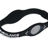 Power Balance, Small, Black/White