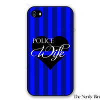 Police Wife iPhone 4, 5, 5c, 6 and 6 plus and Samsung Galaxy s3, s4 and s5 phone case
