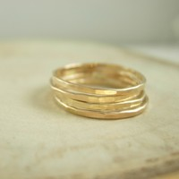 Thin Stacking Rings - James Michelle