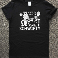 Rick and Morty Inspired Get Schwifty T-shirt unisex, men and women