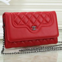 2018 new trend Lingge ladies shoulder bag chain small square bag #2
