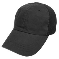 Mesh Tactical Team Cap Color- Black