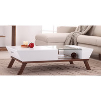 Furniture of America Kress Glass Insert Coffee Table | Overstock.com Shopping - The Best Deals on Coffee, Sofa & End Tables