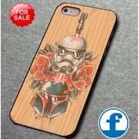Star Wars Roses Tatto in Wood for iphone, ipod, samsung galaxy, HTC and Nexus Phone Case
