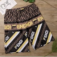 FNEDI Men Casual Sport Shorts