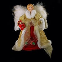 Christmas Angel Tree Topper or Centerpiece