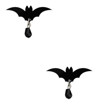 Cherryloco Bat Stud Earrings