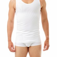 Ultimate Chest Binder Tank - Two full panels in the front provide extra compression - Underworks