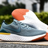 HCXX 19Aug 561 Nike Epic React Flyknit 2 Mesh Sneaker Breathable Casual Running Shoes