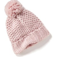 Old Navy Sweater Knit Pom Pom Hat For Baby