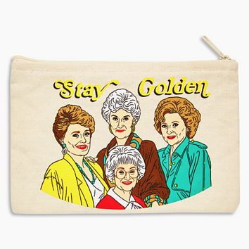 Stay Golden Pouch