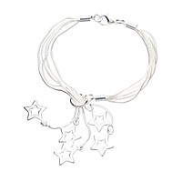 Sterling Silver Bracelets for Women Shooting Star Bracelet