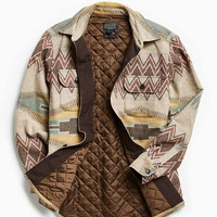 Pendleton Thomas Kay Quilted Flannel Button-Down Shirt | Urban Outfitters