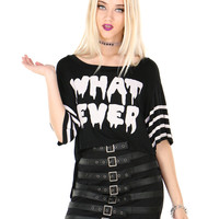 WHATEVER CROP JERSEY