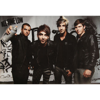 All Time Low Domestic Poster