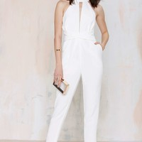 Cameo Collective Breaking Hearts Cutout Jumpsuit