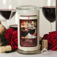 Merlot Jewelry Candle Wine Candle Collection
