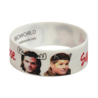 Supernatural Moose & Squirrel Rubber Bracelet