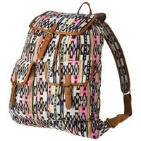 MOSSIMO SUPPLY CO. Pink Cassie Printed Backpack