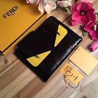 FENDI NEW STYLE LEATHER MONSTER HAND BAG