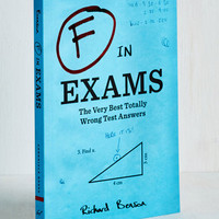 F in Exams by Chronicle Books from ModCloth