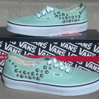 Studded VANS Shoes by CustomStudded on Etsy