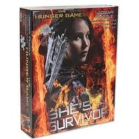 """The Hunger Games Movie Puzzle jigsaw puzzle """"Shes a Survivor"""""""