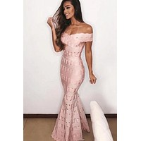 Florence Bandage Maxi dress(Ready To Ship)