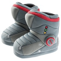 Boys Robot Boot Slipper