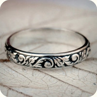 Gorgeous Renaissance Sterling Silver Floral by lovestrucksoul
