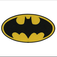Batman Dark Knight DC Comics Movie Classic Bat Logo Iron On Applique Morale Patch