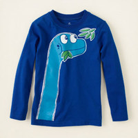 baby boy - graphic tees - dino leaves graphic tee   Children's Clothing   Kids Clothes   The Children's Place