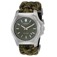 Olive Green Swiss Army Watch by Victorinox