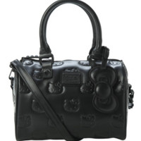 Hello Kitty Loungefly Black Embossed Bag