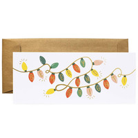 Be Merry and Bright Lights No. 10 Card