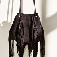 Suede Fringe Duffle Bag - Urban Outfitters