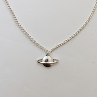 Saturn Chain Necklace
