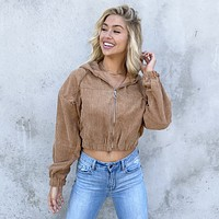 Suede With Love Camel Jacket
