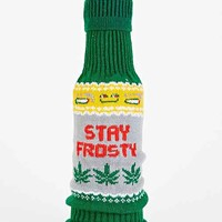 Stay Frosty Beer Sweater- Green Multi One