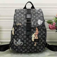 Tagre™ Louis Vuitton Animal Fashion Shoulder Bag Bookbag Backpack Daypack