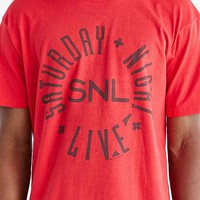 Junk Food SNL Logo Tee- Red
