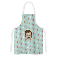 "Juan Paolo ""Give Me All Of The Bacon And Eggs"" Parks & Recreation Artistic Apron"