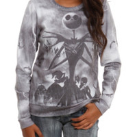 The Nightmare Before Christmas Jack Storm Girls Pullover Top