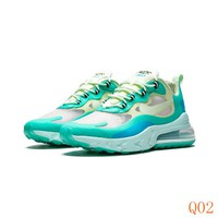 HCXX 19Aug 750 Nike React Air Max 270 Hyper Jade AO4971-301 Women Men Sports Sneaker Fashion Running Shoes