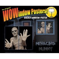 Halloween Decorations: Menacing Mummy Wow Windows