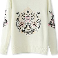 Perfect Vintage Graphic Sweater