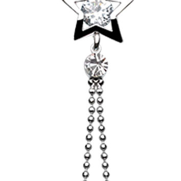 Lucky Star Belly Button Ring