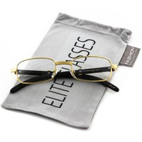 Designer Nerd Square Optical Frame Women Men Elite Fashion Glasses