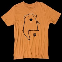 Altru Apparel On the Rocks Bear tee